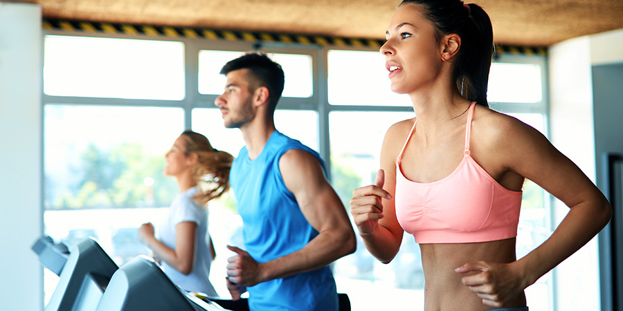 Young attractive woman doing cardio workout. cbd for health wellness. Buy CBD for women online USA.